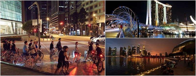 Marina Bay Night Bicycle Tour