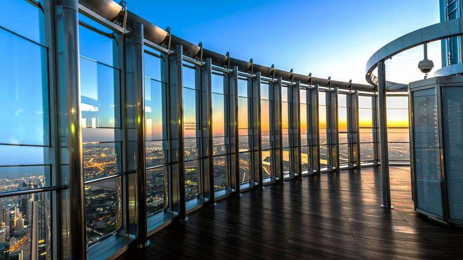 Burj Khalifa Tickets: Level 124th and 125th